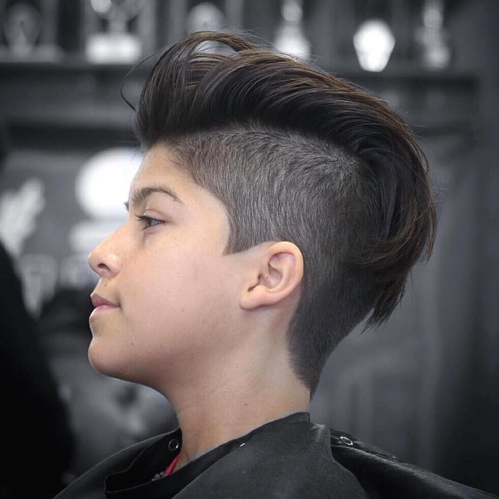 One Sided Short Hairstyles Men Men Hairstyle One Side Hair Style Inside One Sided Short Hairstyles (View 5 of 25)