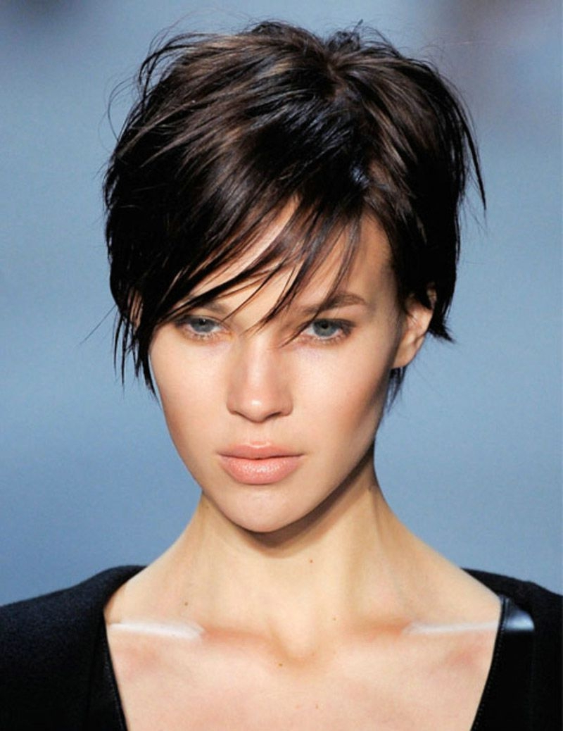 Oval Hair Cuts - Lamidieu inside Short Hairstyles For An Oval Face