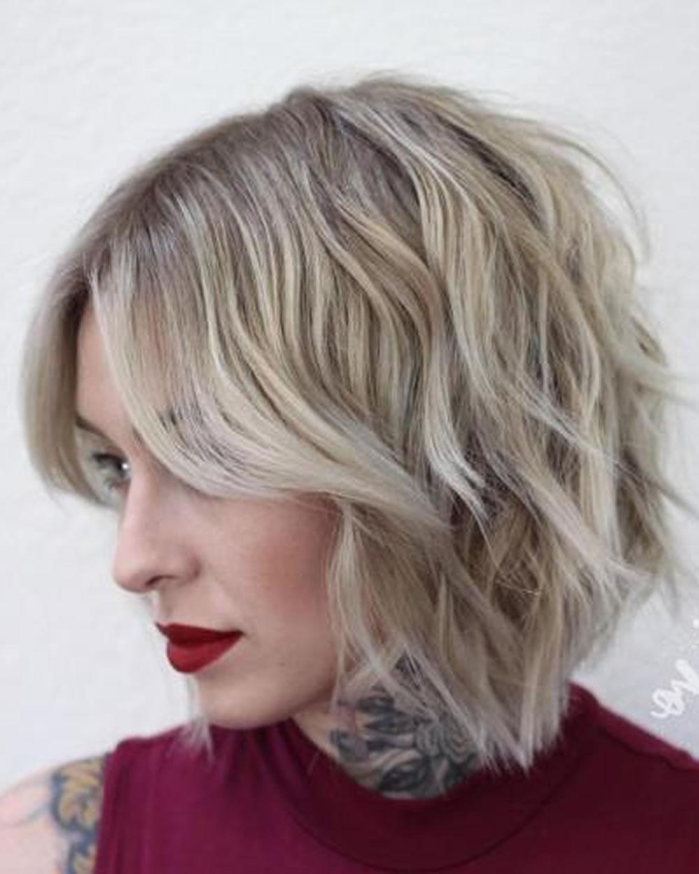 Overwhelming Short Choppy Haircuts For 2018 2019 (Bob+Pixie Hair Inside Choppy Short Haircuts (View 6 of 25)