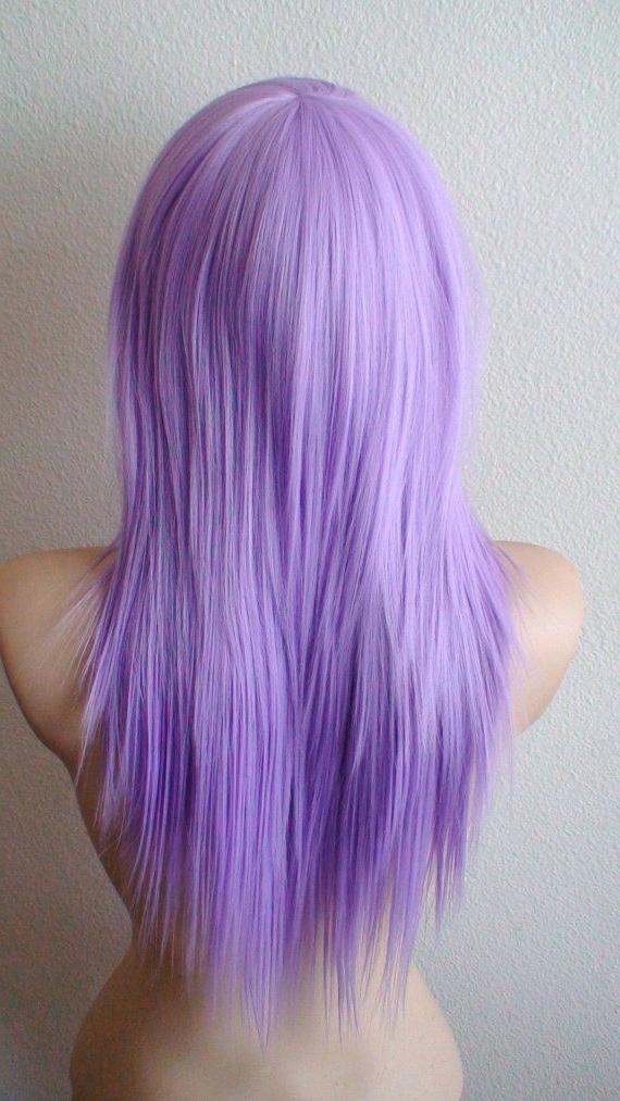 Pastel Wig. Lavender Wig. Scene Wig (View 10 of 25)
