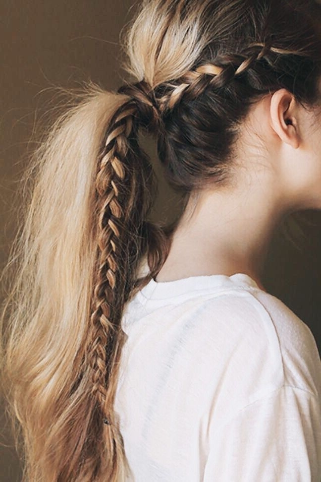 P?n?ere??: @la?ren?oge ? | T A N G L E D | Pinterest | Hair Styles With Tangled And Twisted Ponytail Hairstyles (View 9 of 25)