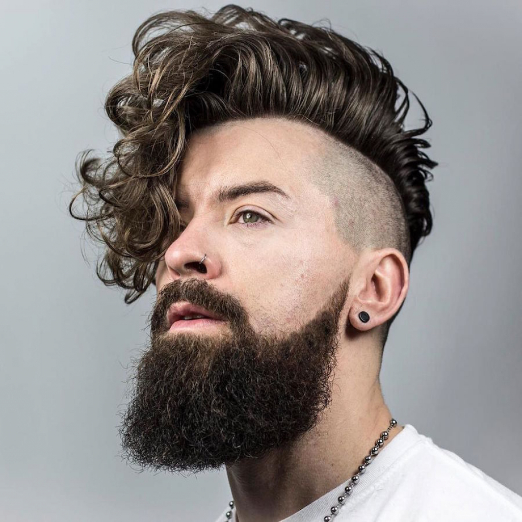 Picture Of Undercut Hairstyle For Curly Hair Menhairdos (View 22 of 25)