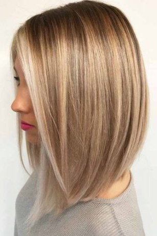 Pictures Of A Line Bob Haircuts 2018 | Hairstyles | Pinterest In Butter Blonde A Line Bob Hairstyles (View 5 of 25)