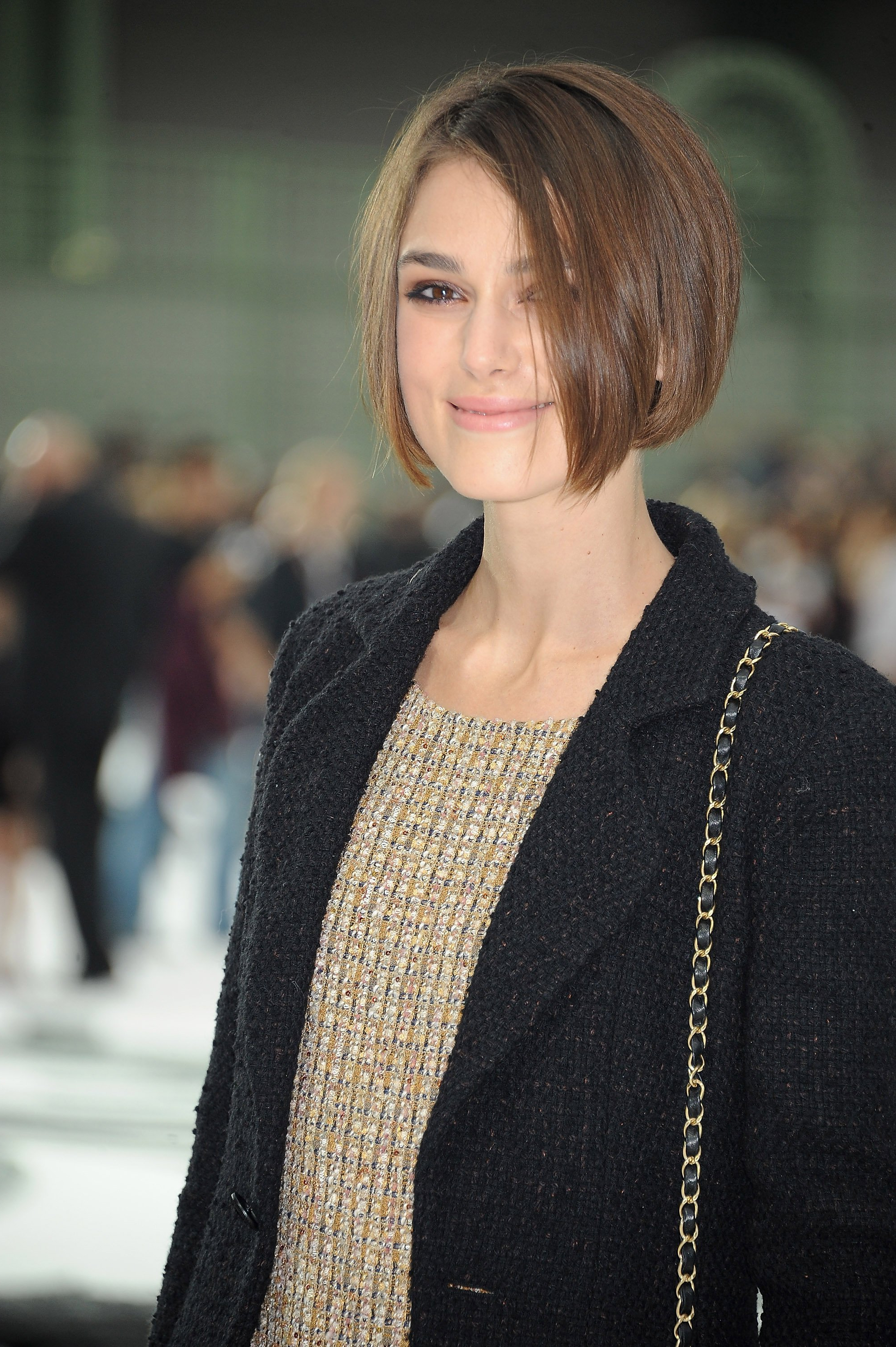 Pictures Of Celebs At The 2011 Spring Paris Fashion Week Chanel Show With Regard To Keira Knightley Short Haircuts (View 25 of 25)