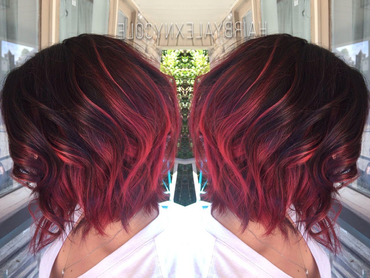 Pinadriana Mckenzi On Short Hairstyles In 2018 | Pinterest Within Short Hairstyles With Red Hair (View 21 of 25)
