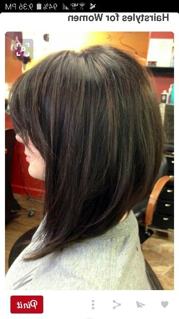 Pinamber D'atri On Fast Track Your Hotness In 2018   Pinterest Throughout A Line Amber Bob Haircuts (View 23 of 25)