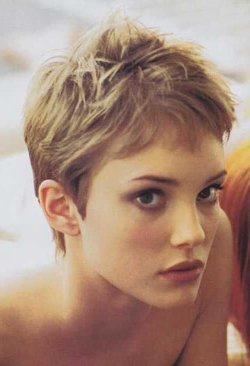Featured Photo of Messy Pixie Hairstyles For Short Hair