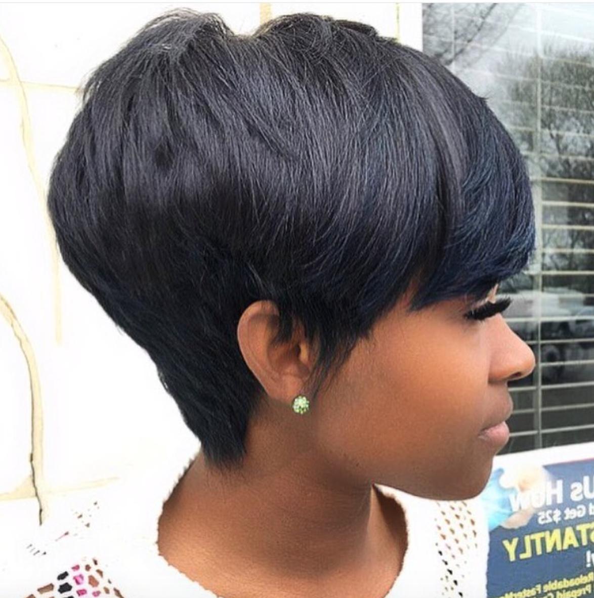 Pinblack Hair Information – Coils Media Ltd On Short Haircuts Throughout Black Short Haircuts (View 17 of 25)