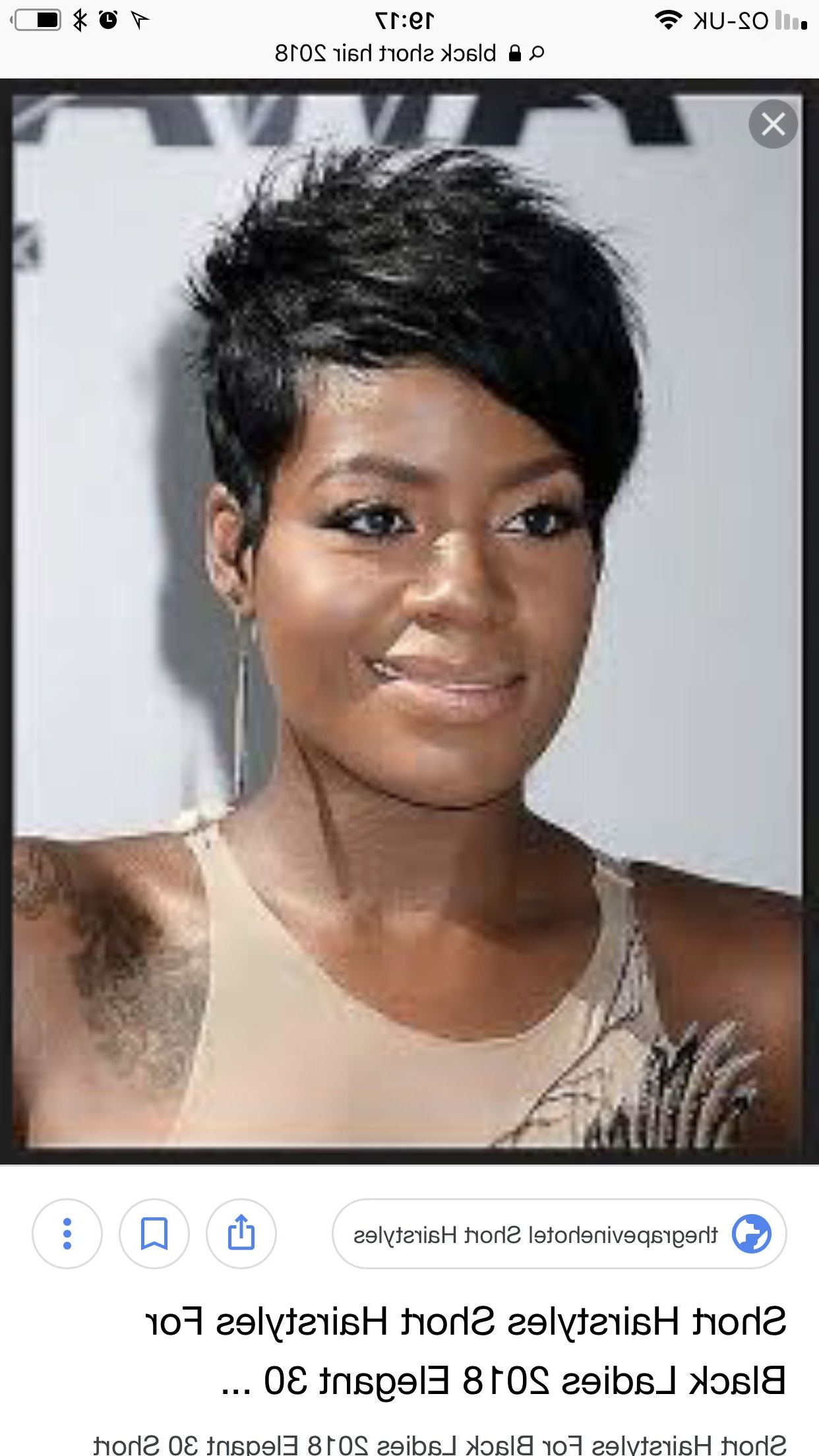 Pincaptain69 On Black Short Hairstyles In 2018 | Pinterest Throughout Black Short Hairstyles (View 24 of 25)