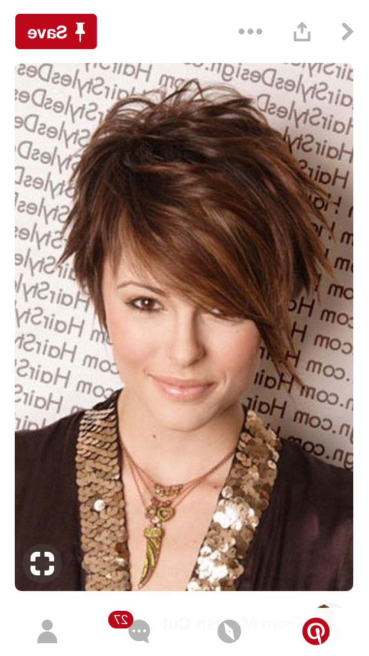 Pinchelle Moham Jones On Hair Color Fall/spring   Pinterest Throughout Short Funky Hairstyles For Over  (View 24 of 25)