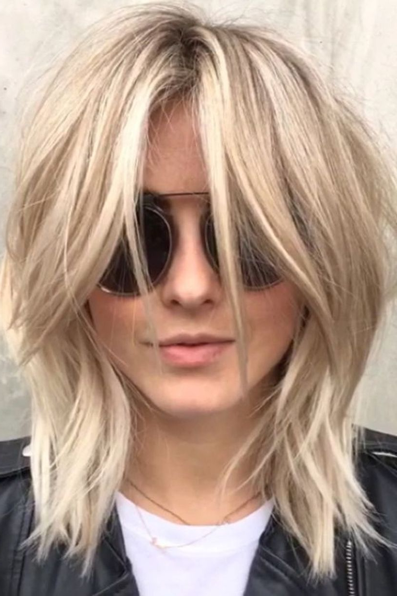 Pinfashion Best On Haircut And Style In 2018 | Pinterest | Hair Regarding Short To Medium Shaggy Hairstyles (View 13 of 25)