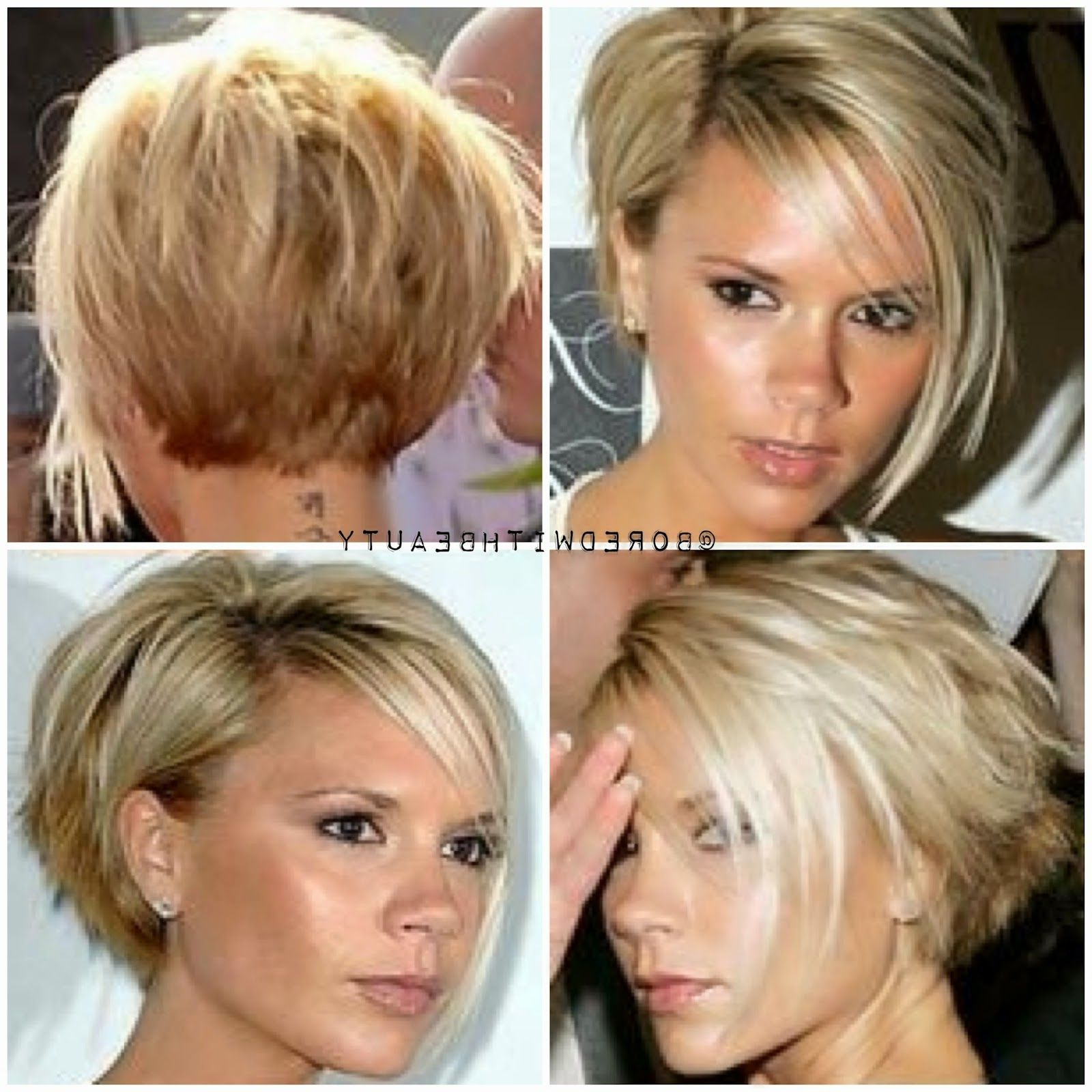 Ping W On Current Hair Desire In 2018 | Pinterest | Hair, Short For Victoria Beckham Short Haircuts (View 6 of 25)