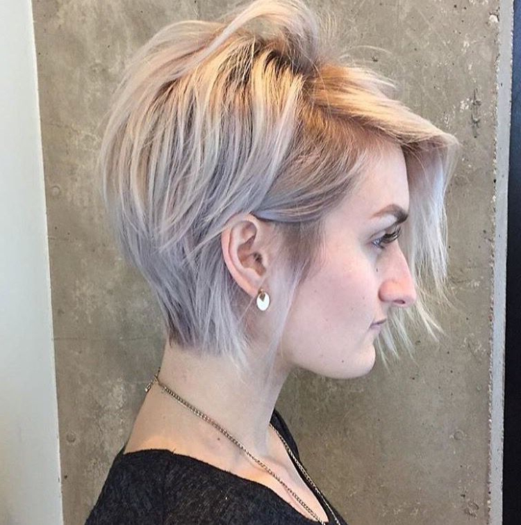 Pinhaley Herbst On Woman's Short+Pixie Cuts (View 3 of 25)