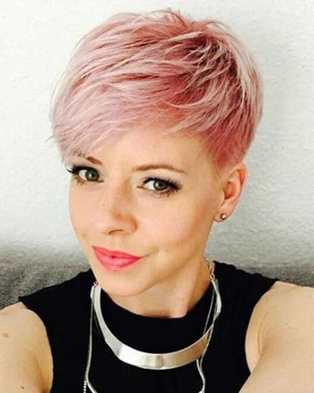 Pink Hair Colors Pixie Hair Ideas 2018 2019 – Hairstyles Regarding Pinks Short Haircuts (View 6 of 25)