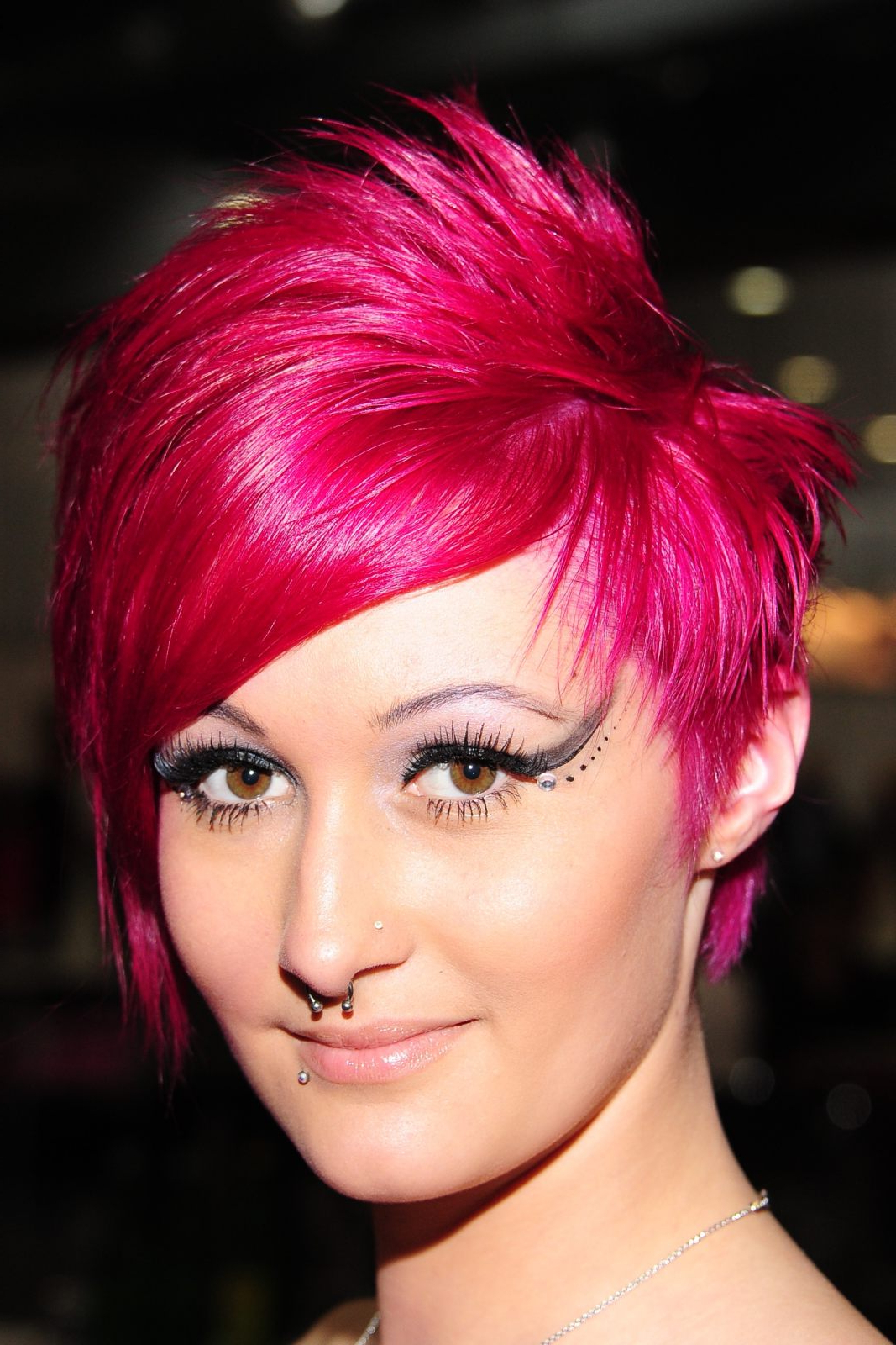 Pink Short Hairstyle – Hairstyle For Women & Man Regarding Pink Short Haircuts (View 18 of 25)