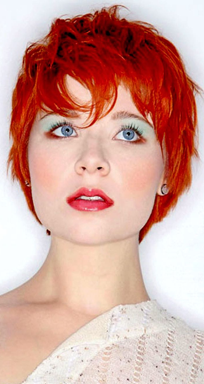 Pinkmicic66 On Short Hairs | Pinterest | Short Hair And Redheads Inside Red Short Hairstyles (View 23 of 25)