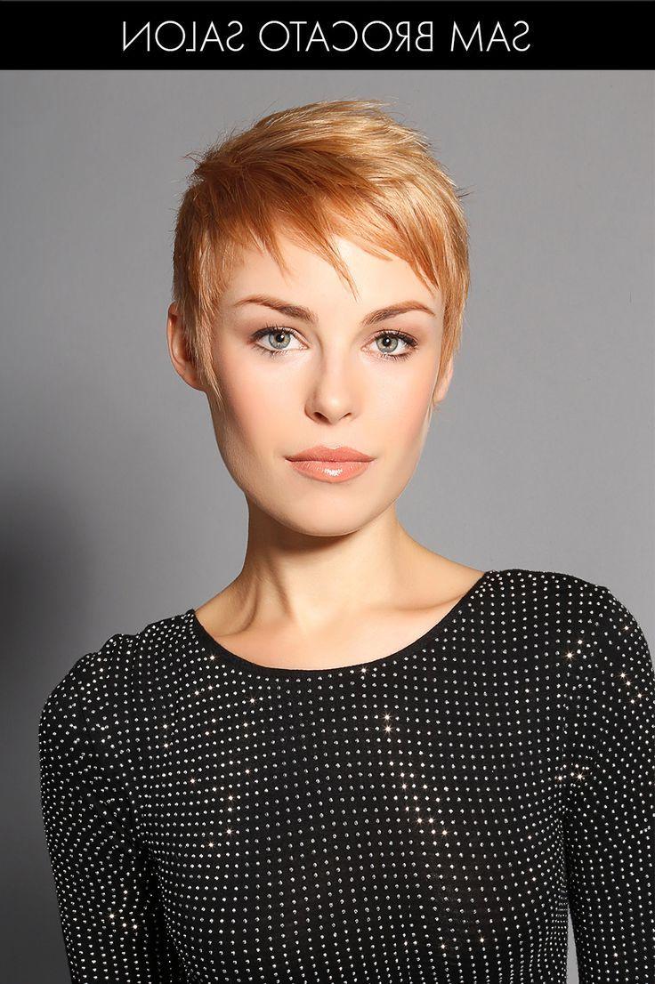 Pinlaurie Cummings On Hair Ideas In 2018   Pinterest   Hair Inside Strawberry Blonde Short Haircuts (View 4 of 25)