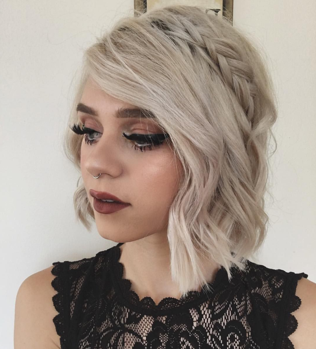 Pinlily Ritter On Beauty In 2018 | Pinterest | Hair, Short Hair Within Hairstyles For Short Hair For Graduation (View 22 of 25)
