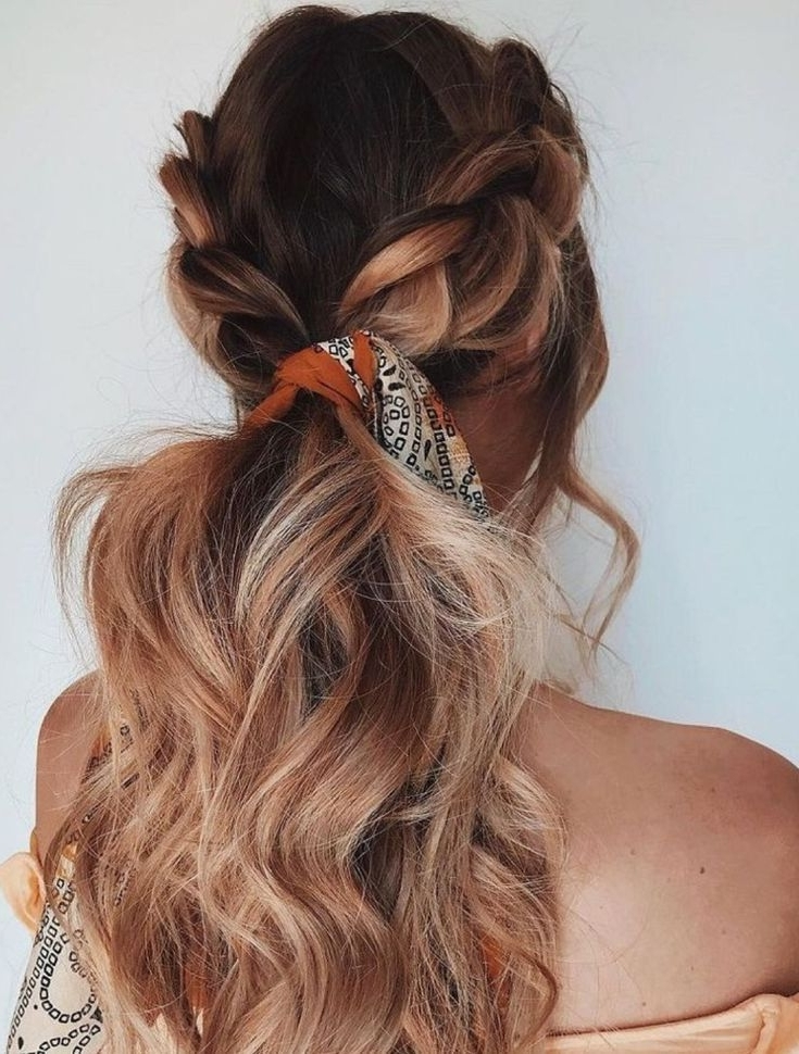 Pinlucia Del Mazo On Me \ Hair | Pinterest | Hair, Hair Styles Pertaining To Braided Maze Low Ponytail Hairstyles (View 20 of 25)