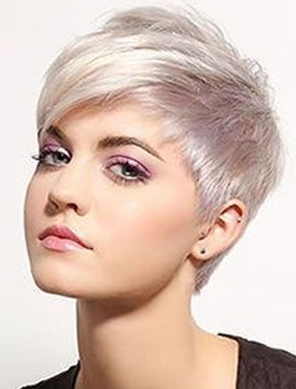 Pinlynda On Bunnies In 2018   Pinterest   Pixie Hair, Short With Funky Short Haircuts For Fine Hair (View 14 of 25)