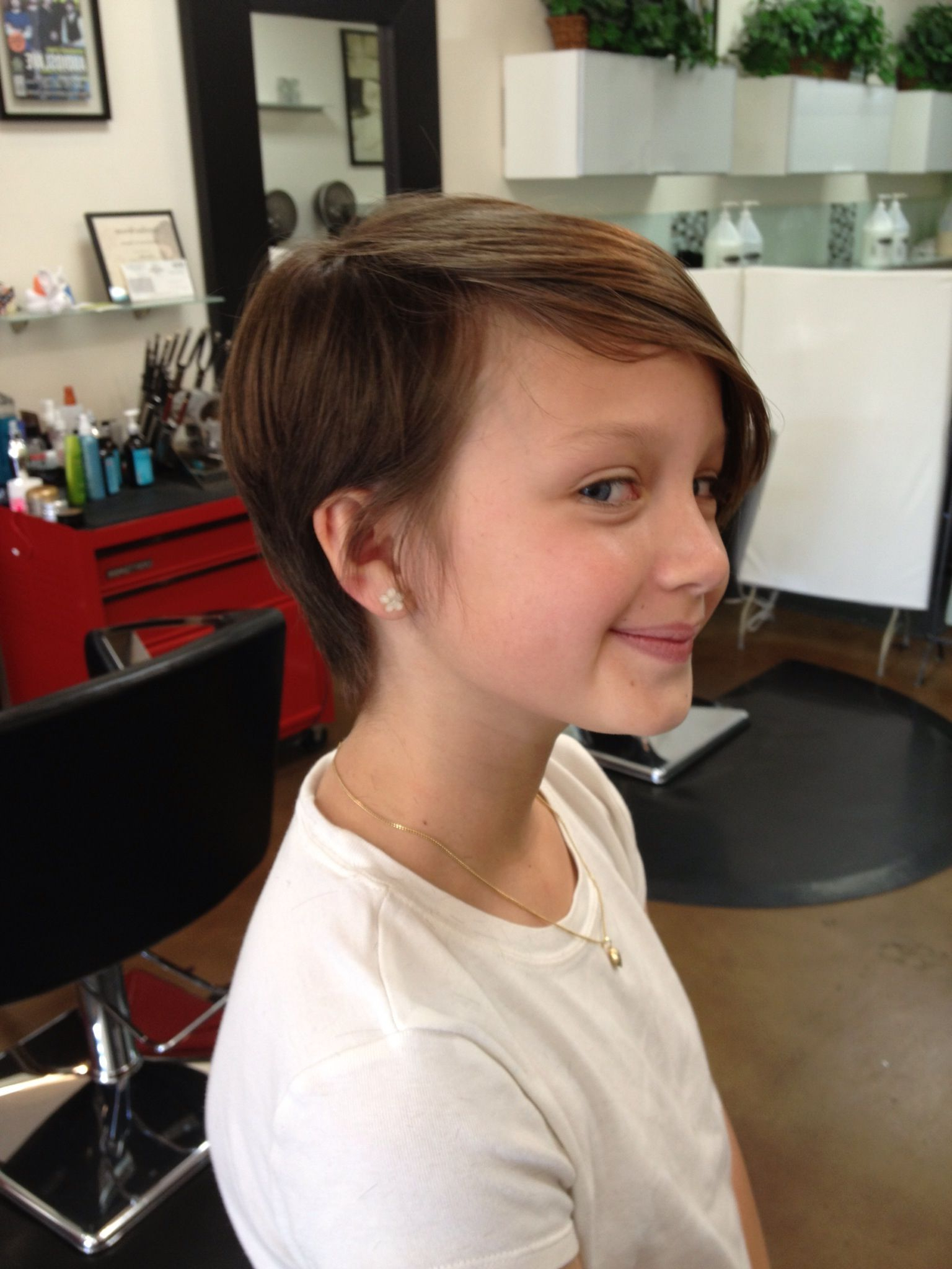 Pinmadi Stewart On Diy | Pinterest | Hair Cuts, Hair And Girl With Short Hairstyles For Young Girls (View 18 of 25)
