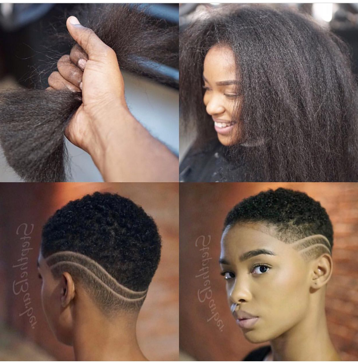 Pinned By: @lovemebeauty85 | Short Hair Styles In 2018 | Pinterest For Short Haircuts For Black Teens (View 4 of 25)
