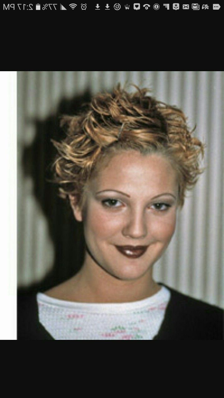 Pinnessi Henize On Short Haircuts In 2018 | Pinterest | Short Pertaining To Drew Barrymore Short Haircuts (View 22 of 25)