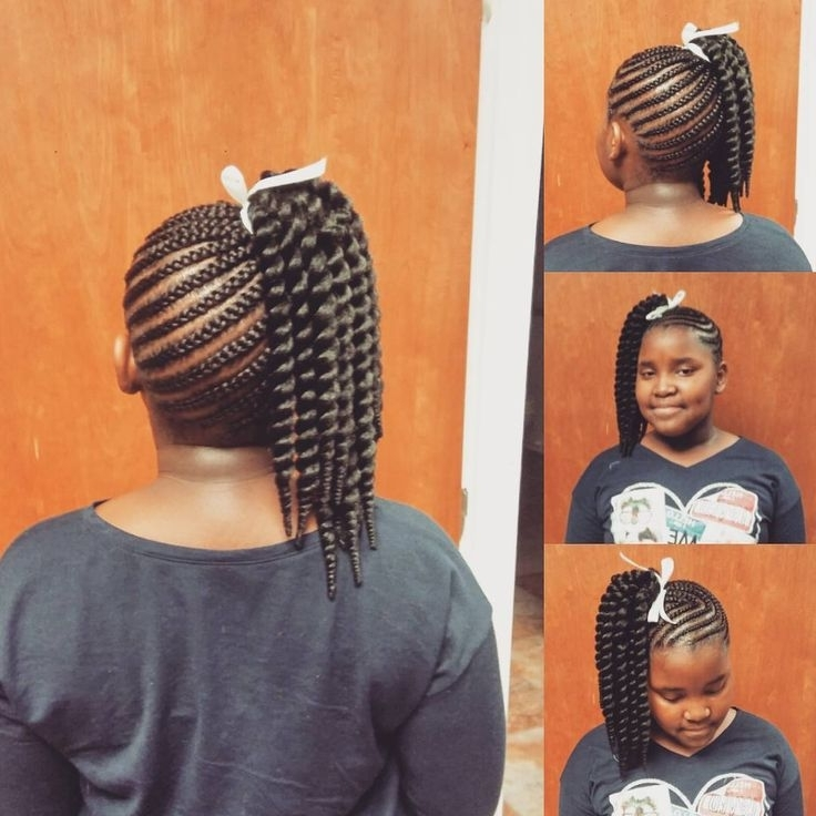Pinnikki Beads Braids Beyond On Natural Hair / Hairstyles Regarding Beach Friendly Braided Ponytails (View 16 of 25)