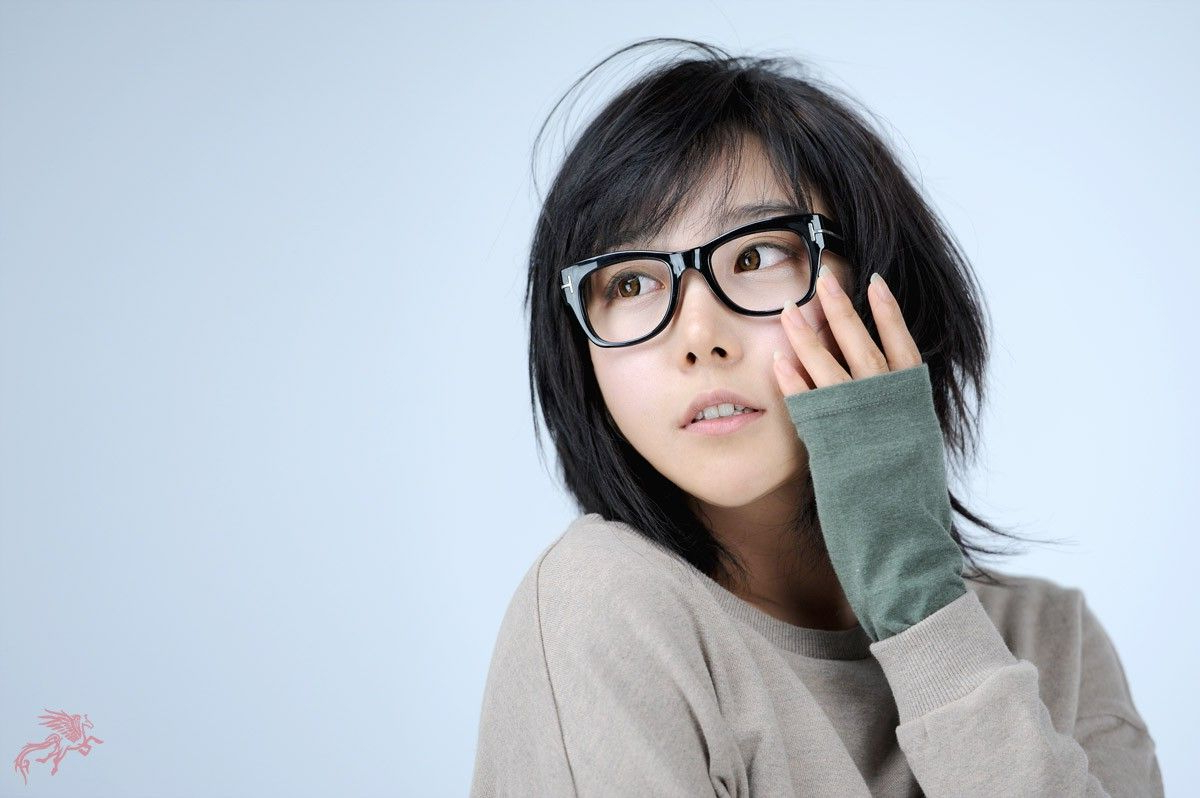 Pinpeiyu Tsai On Glasses In 2018 | Pinterest | Short Hair Styles Inside Short Haircuts With Glasses (View 23 of 25)