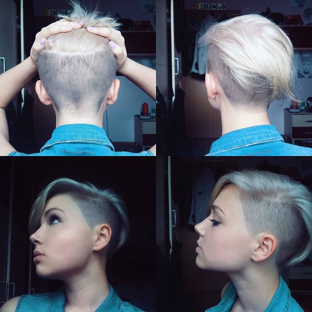 Pinplastic Surgery Beauty On Mommy Makeover In 2018 | Pinterest Pertaining To Short Hairstyles One Side Shaved (View 14 of 25)