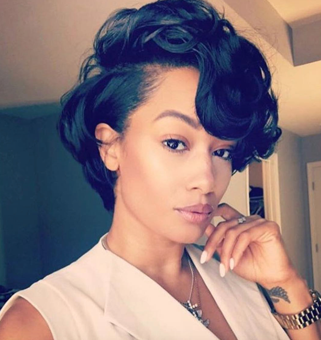 Pinprincess James On Glam Sqaud!!! :) In 2018   Pinterest   Hair In Short Hairstyles For Black Hair (View 17 of 25)