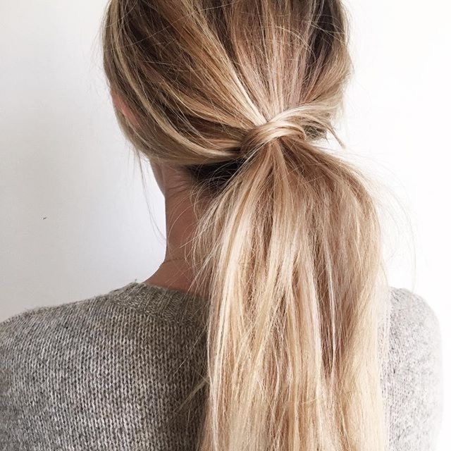 Pinrachael Williams On H A I R | Pinterest | Hair, Hair Styles With Regard To Twisted And Pinned Blonde Ponytails (View 9 of 25)