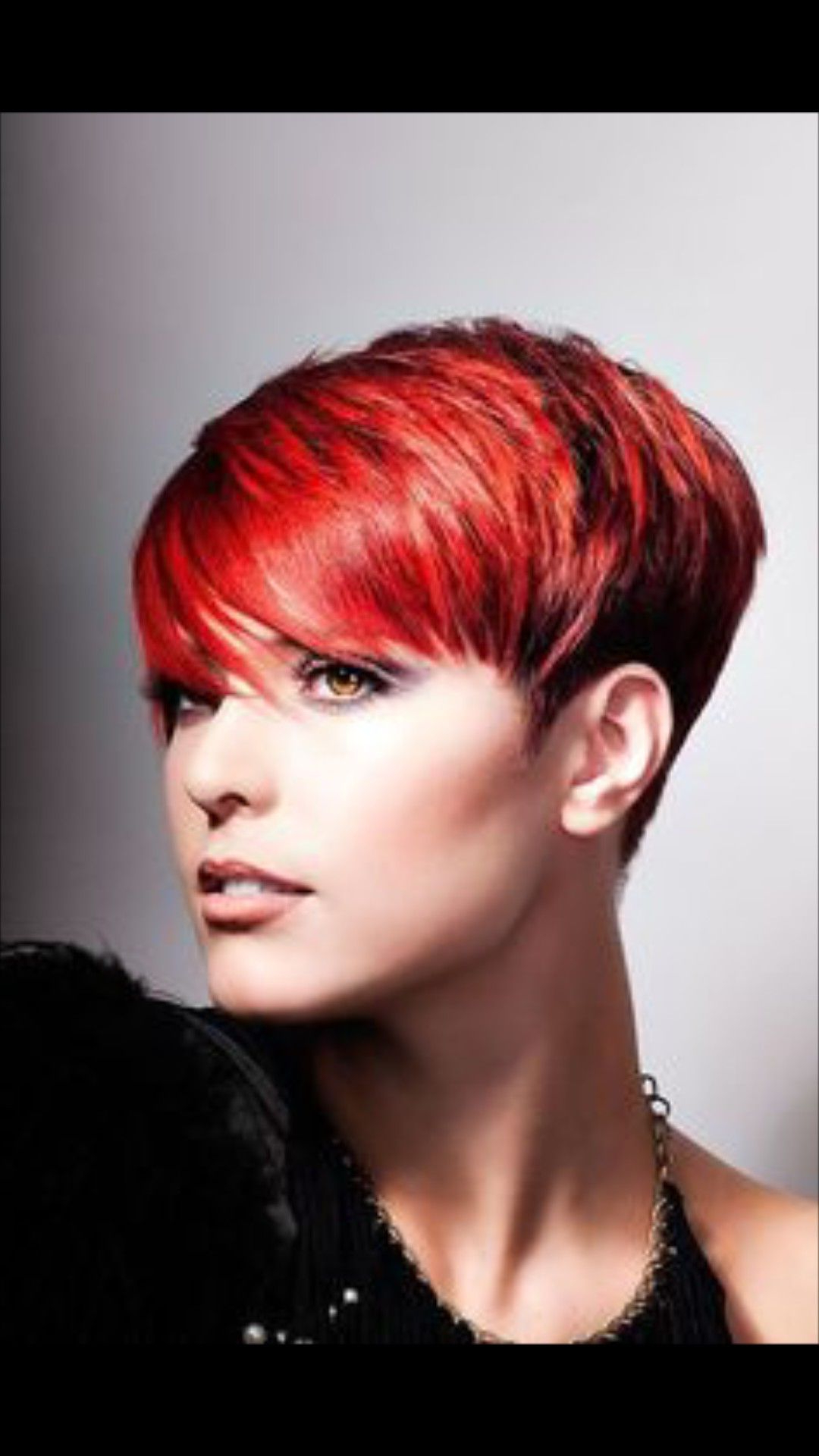 Pinretha On Retha In 2018   Pinterest   Short Hair Styles, Hair With Bright Red Short Hairstyles (View 21 of 25)