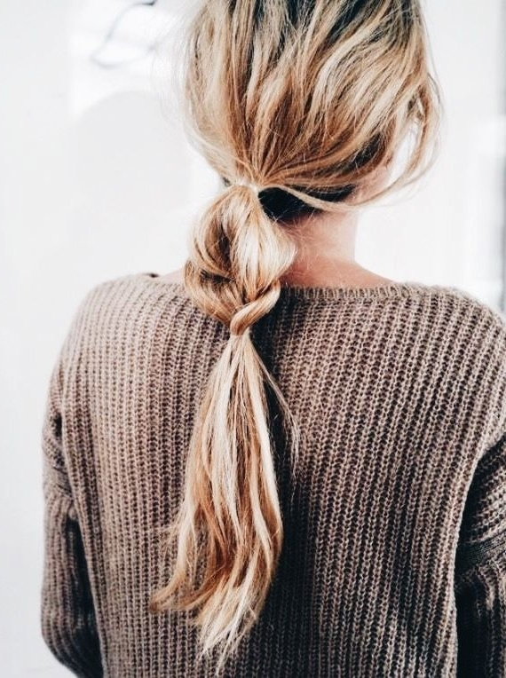 Pinsarah ??? On Tangled In 2018 | Pinterest | Hair Style Intended For Tangled And Twisted Ponytail Hairstyles (View 5 of 25)