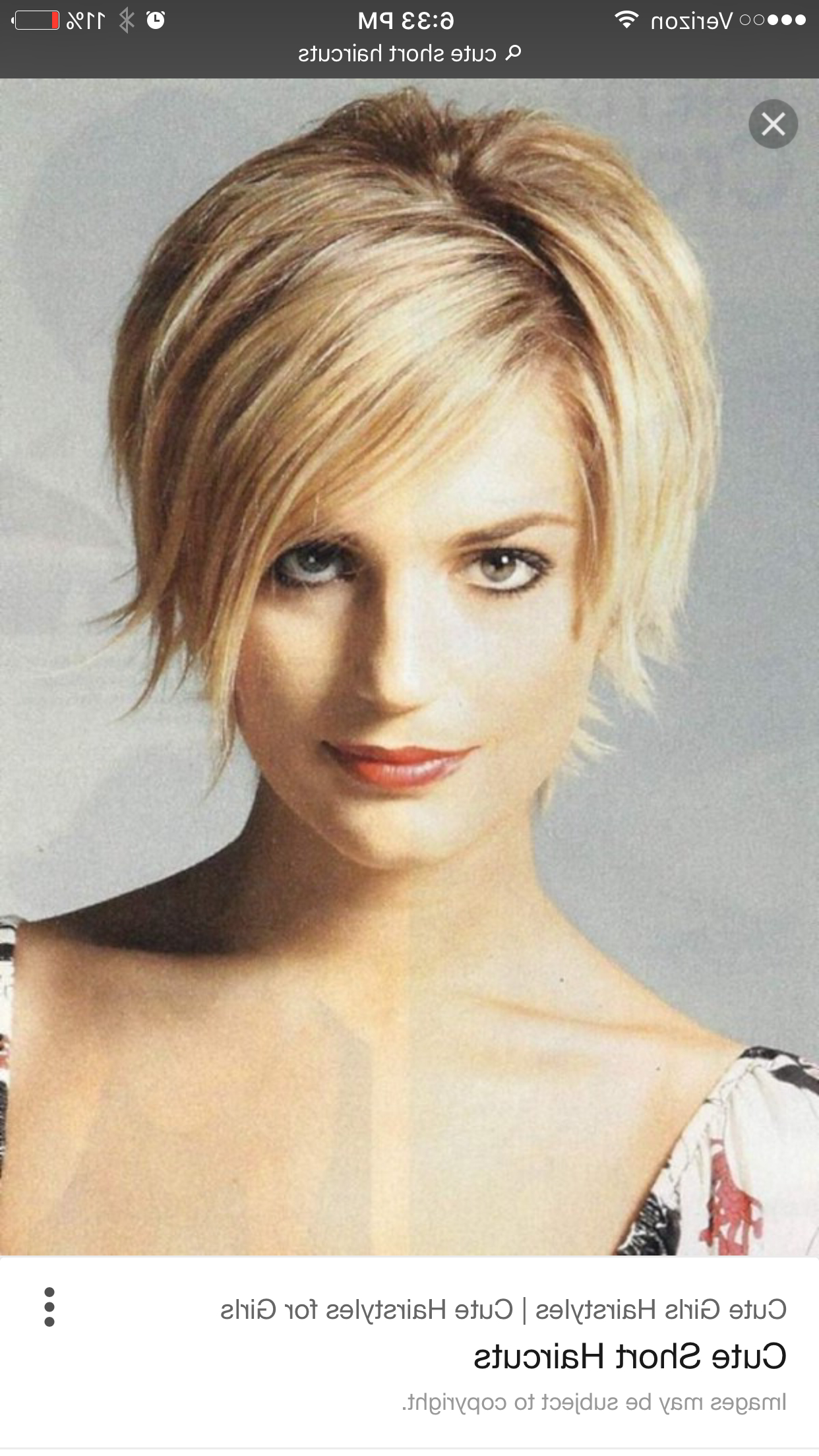 Pinsheri Brooks On Hairstyles | Pinterest In Cute Short Haircuts For Thin Straight Hair (View 20 of 25)