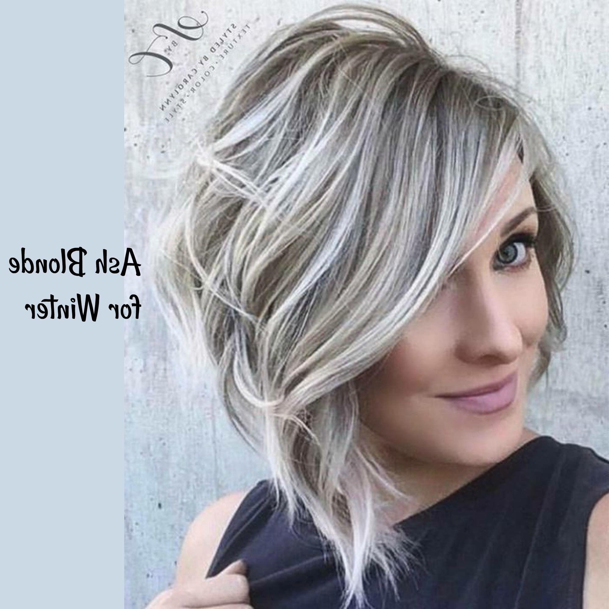 Pinsuzette Grijalva On My New Hair | Pinterest | Hair, Hair Inside Ash Blonde Short Hairstyles (View 15 of 25)