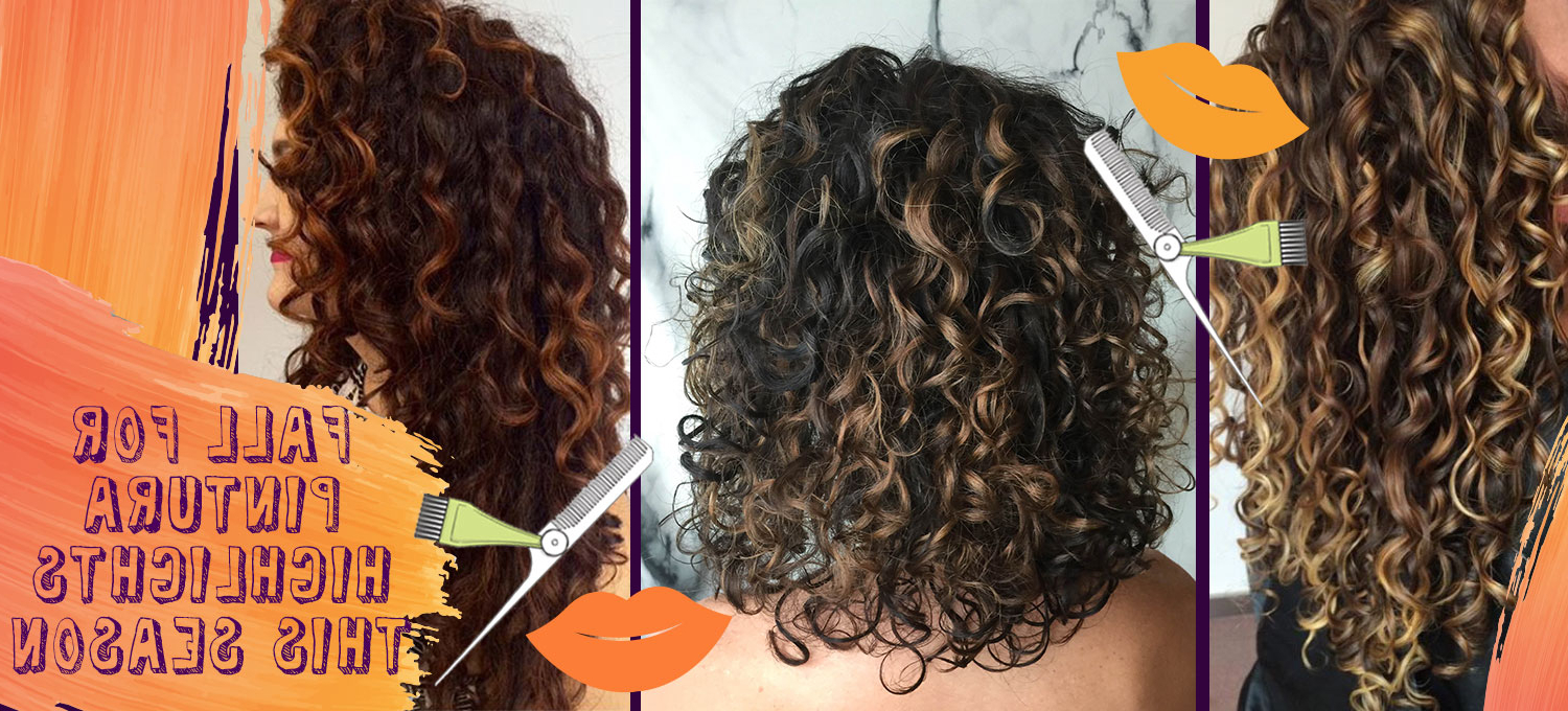 Pintura Highlights The Color Method For Curly Hair – Devacurl Blog In Brown Curly Hairstyles With Highlights (View 25 of 25)