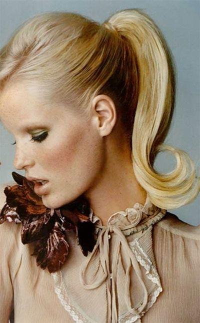 Pinvilla Benita – ??? ????? ???????? On Ponytail Hairstyle In Sleek Ladylike Ponytail Hairstyles (View 12 of 25)