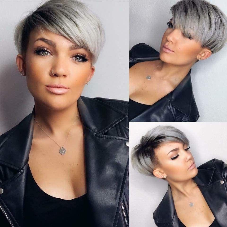 Pinzuza Wie On Hair | Pinterest | Short Hair, Hair Style And Regarding Dramatic Short Haircuts (View 13 of 25)