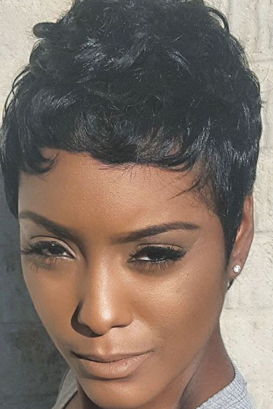 Pixie …   Black Hairstyles   Pinte… Throughout Black Hairstyles Short Haircuts (View 23 of 25)