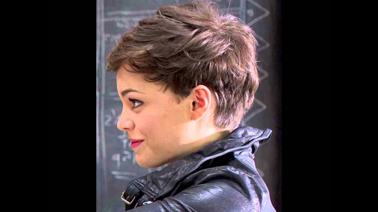 Pixie Haircut For Round Face – Youtube In Edgy Short Hairstyles For Round Faces (View 22 of 25)