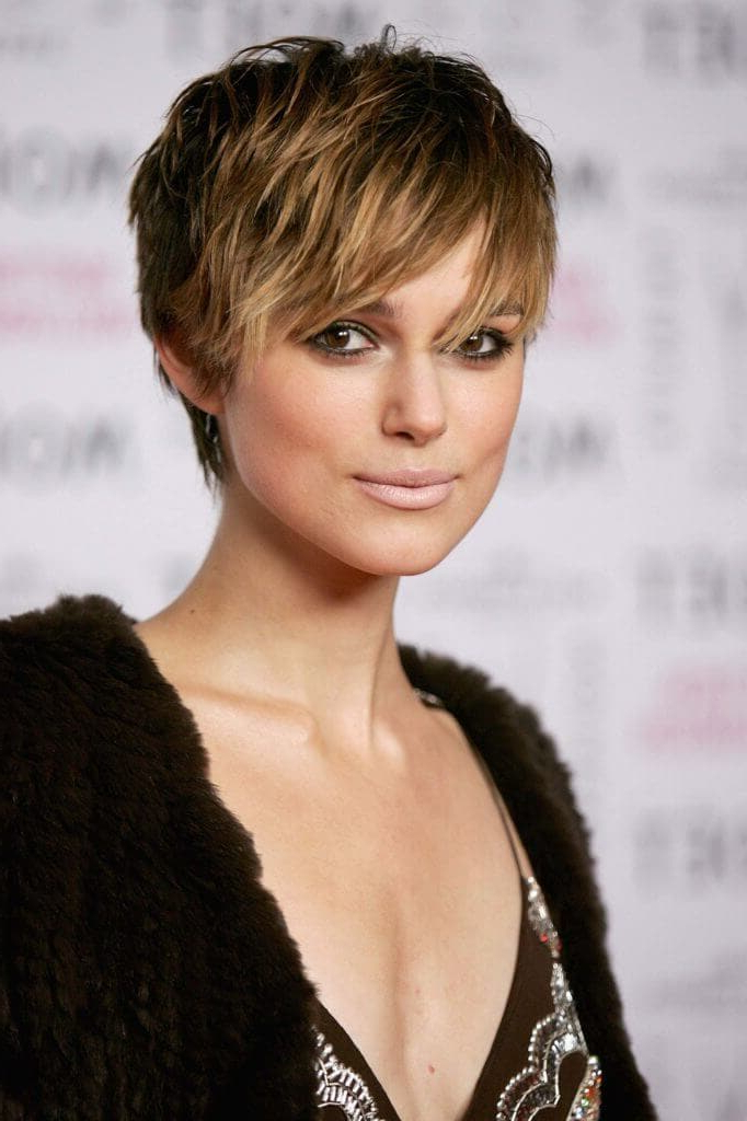 Image Gallery Of Elongated Choppy Pixie Haircuts With Tapered Back
