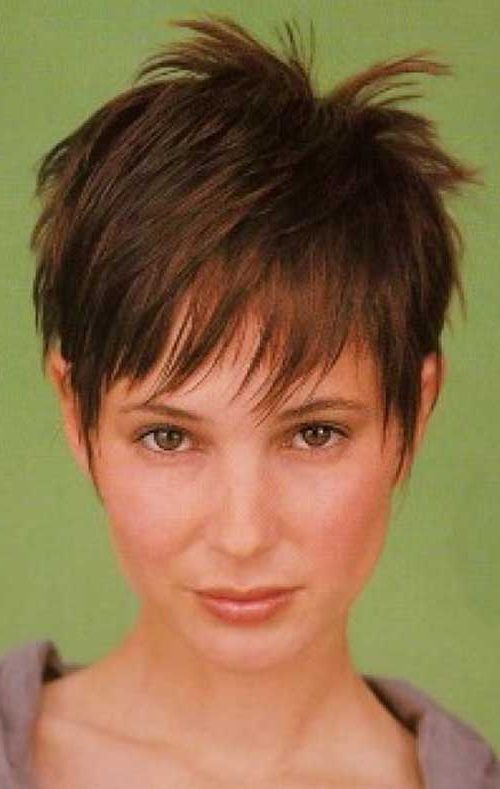 Pixie Haircuts For Fine Hair   Short Hairstyles 2017 – 2018   Most In Feathered Pixie Hairstyles For Thin Hair (View 18 of 25)
