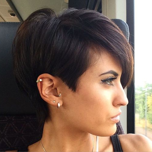 Pixie Haircuts For Thick Hair – 40 Ideas Of Ideal Short Haircuts In Pretty And Sleek Hairstyles For Thick Hair (View 13 of 25)