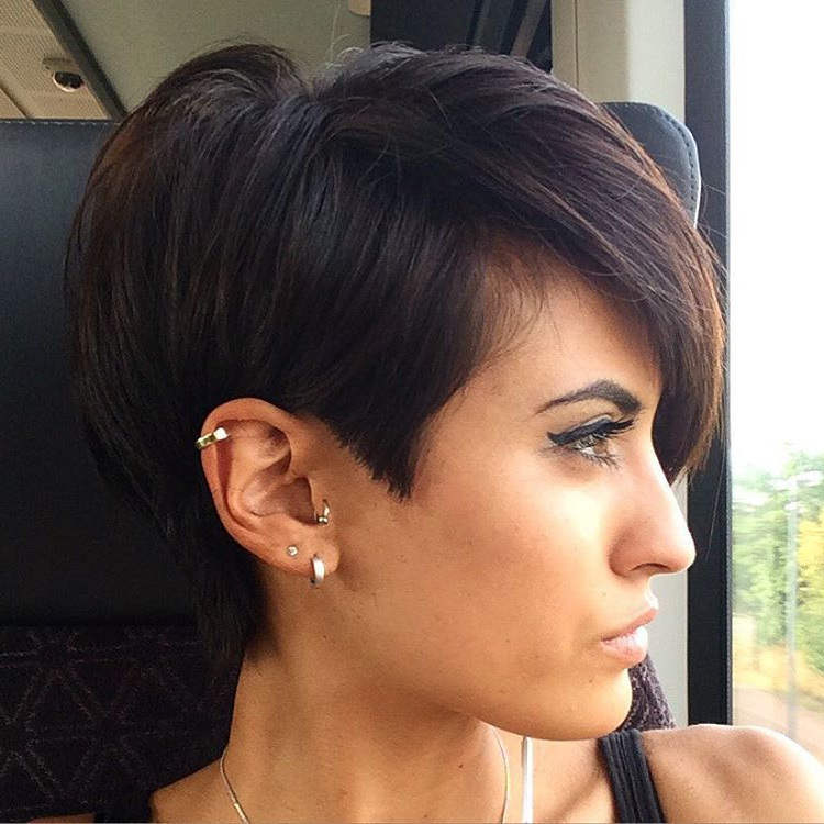 Pixie Haircuts For Thick Hair – 50 Ideas Of Ideal Short Haircuts In Regarding Pixie Haircuts With Short Thick Hair (View 2 of 25)