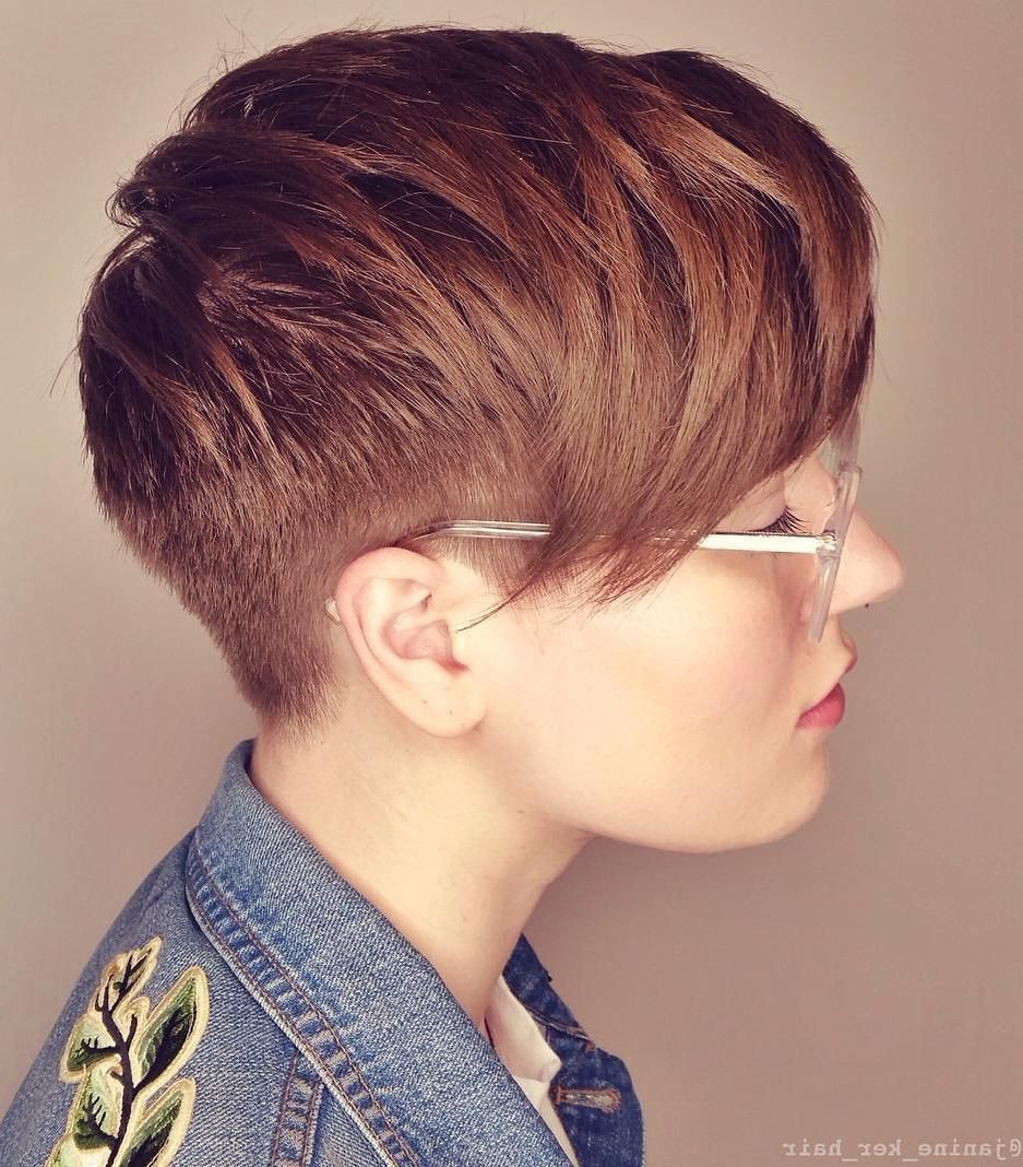 Pixie Haircuts With Bangs – 50 Terrific Tapers In 2018   Desperately In Auburn Short Haircuts (View 7 of 25)