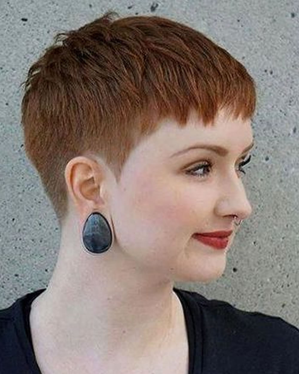 Pixie Hairstyles For Round Face And Thin Hair 2018 – Hairstyles Inside Super Short Hairstyles For Round Faces (View 17 of 25)