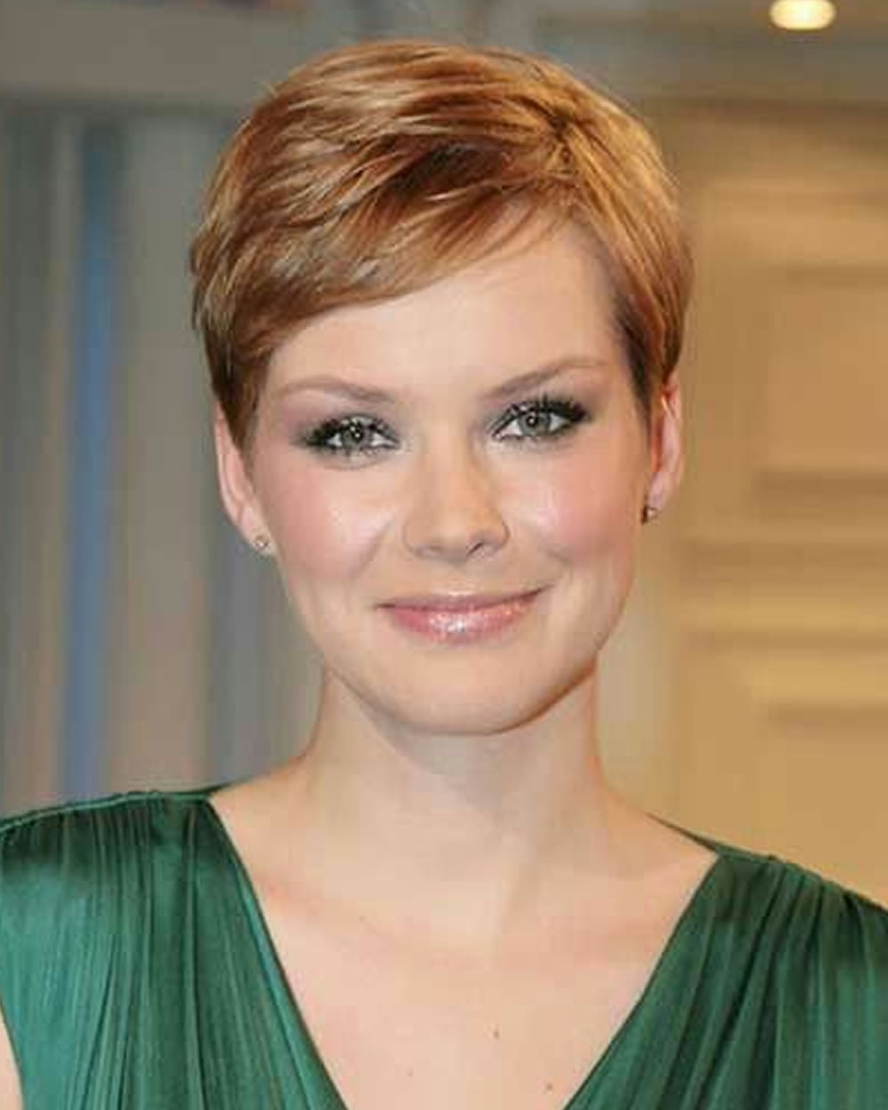 Pixie Hairstyles For Round Face And Thin Hair 2018 – Page 5 – Hairstyles Throughout Super Short Hairstyles For Round Faces (View 18 of 25)