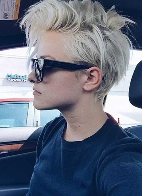 Pixie Hairstyles That Will Drive You Wild | Pixie Haircut For Mums Intended For Funky Pixie Undercut Hairstyles (View 19 of 25)