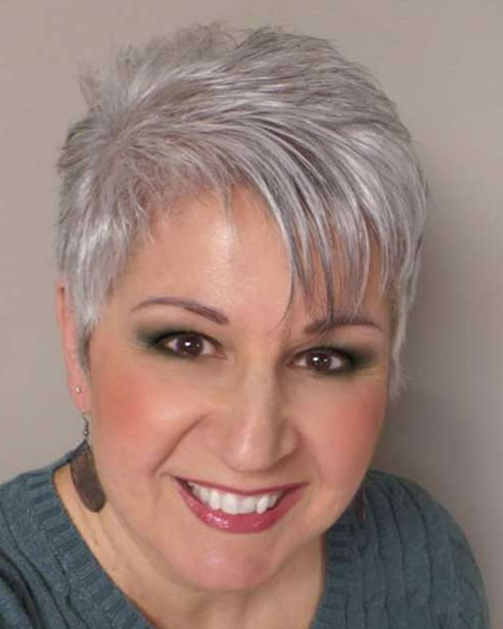 Pixie Short Haircuts For Older Women Over 50 & 2018 2019 Short In Short Haircuts For Women Over  (View 11 of 25)